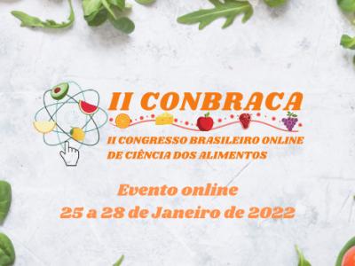 II Congresso Brasileiro Online de Ciência dos Alimentos