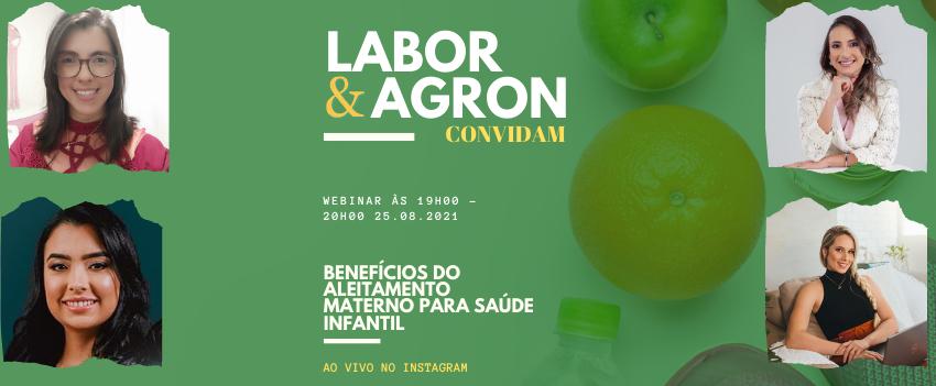 Labor & Agron Convidam – Benefícios do aleitamento materno para saúde infantil