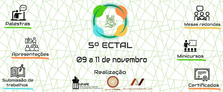 5° ECTAL – Encontro de Ciência e Tecnologia de Alimentos